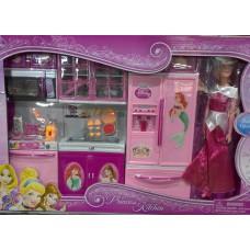 Кухня PRINCCESS Kitchen с куклой