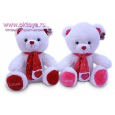 Медведь в шарфе муз-2цв.(72/1)