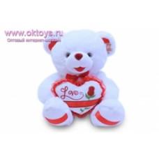 Медведь с сердцем  муз -1цв.(30/1)