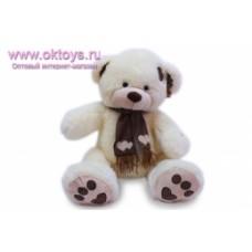 Медведь в шарфе муз -1цв.(30/1)