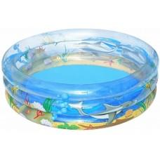 """BW Детский круглый бассейн """"Морская жизнь"""", 150х53 см, 445 л"""