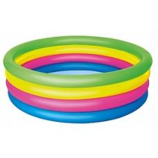 BW Детский круглый бассейн Разноцветный, 157х46 см, 522 л