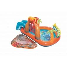 BW Детский игровой бассейн с принадл. Вулкан 265х265х104см, 208 л, от 2 лет