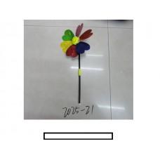 Ветряк детский 1 цветок «Смайлик», пластмасс, пакет