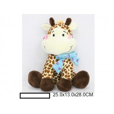 Игр.мягк.Жираф , в ассорт., пакет 25х13х28 см